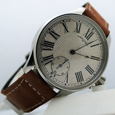 Vintage swiss wrist watch classic style vacheron constantin with hand engraving