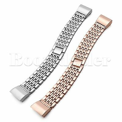 Stainless Steel Bracelet Wristband Band Watch Strap For Fitbit Charge 2 2 HR
