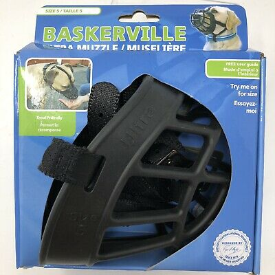The Company of Animals Baskerville Ultra Muzzle for Dogs Size 5