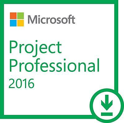 Microsoft Project 2016 Professional - Full Version - No Expiry