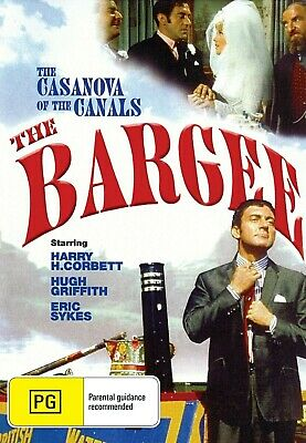 The Bargee (1964) - DVD - NEW - Harry H. Corbett, Hugh Griffith