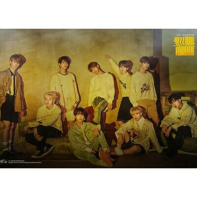 Kpop Stray Kids《Clé 2 : YELLOW WOOD》Photo Poster All Members Wall Hanging Photo