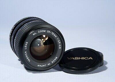 Yashica ML 35-70mm f/3.5-4.8 Macro Zoom Lens * Y/C Contax * Adapt DSLRs * Mint