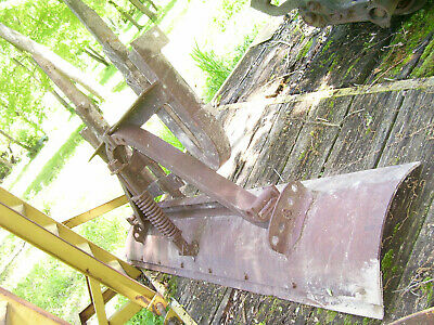 Vintage Ih Mccormick Farmall 400 450 460 Tractor -7' Fast Hitch Back Blade