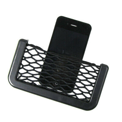 In Car Tidy Black Storage Net Pouch Money Phone Sunglasses Holder Pocket NEW