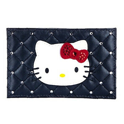 Swarovski hello kitty originale portacarte nero black genuine card holder wallet
