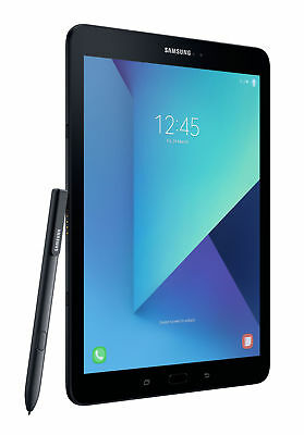 "Samsung Galaxy Tab S3 32GB WiFi 9.7"" Tablet Black Open Mint Condition"