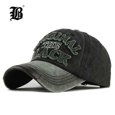 61cfb669a3dce3 [FLB] Hot Retro Washed Baseball Cap Fitted Cap Snapback Hat For Men Bone  Women