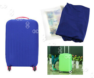"30"" Blue Travel Luggage Suitcase Protector Cover Bags Elastic Pouch Dust-proof"