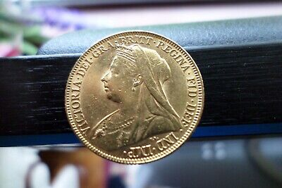 Gold Sovereign 1899 Perth Mint (P) Victoria Old Head. Rare, Key Date Low mintage