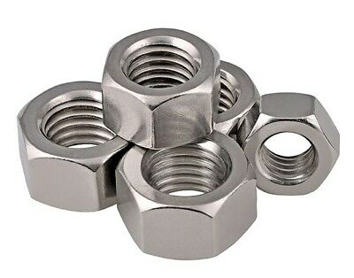 M16 Hex Full Nut Din 934 A2 Stainless Steel Hexagon Nut