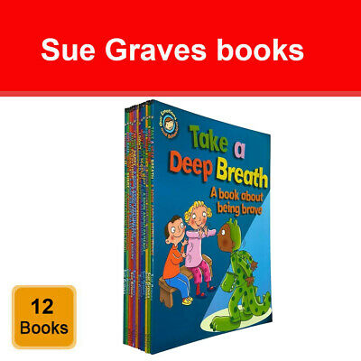 Sue Graves Behaviour Matters 4 Books Collection Set Rhino Learns to be Polite