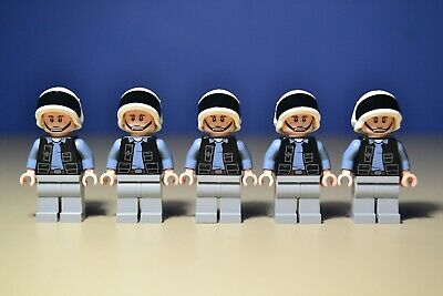 Lego Star Wars Rebel Fleet Trooper Lot of 5 Minifigures 75244 75237