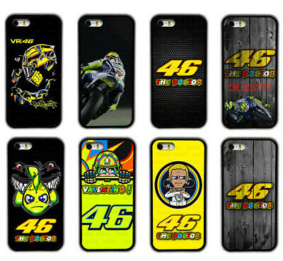 Valentino Rossi Moto GP The Doctor Racing Legend Rubber Phone Case Cover