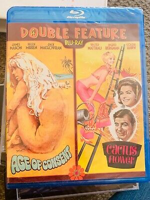 Age of Consent/Cactus Flower double feature Blu Ray