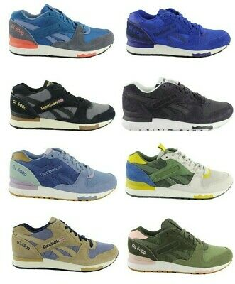 Reebok Classic Gl 6000 8500 3000 1500 Suede Leather Shoes
