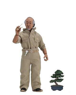 "The Karate Kid - 8"" Clothed Action Figures - Mr. Miyagi -NECA"