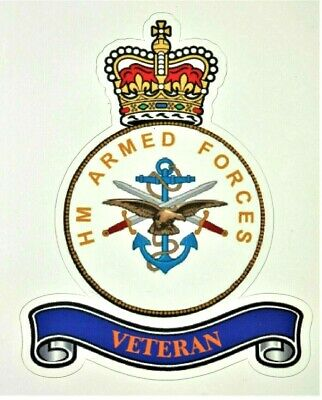 Armed Forces Uk Veteran Military Sticker Remembrance Day 2019 D-Day Car Van