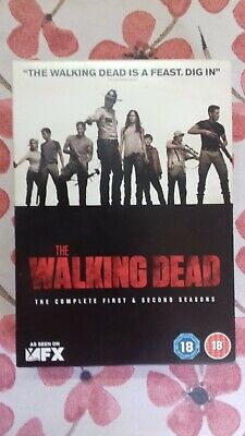 The Walking Dead - DVD 6 Disc Box Set - The Complete First & Second Season