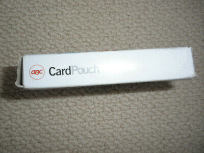 Badge Card Laminating Pouch x 50.  Box NEW.