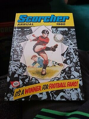 Scorcher Annual 1980 X EXCELLENT CONDITION FOR AGE X LIKE NEW X VERY RARE X2181X
