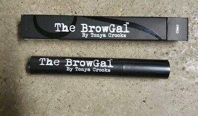 The BrowGal Clear Eyebrow Gel Water Resistant by Tonya Crooks NEW