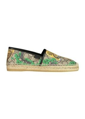 comprare on line 031d7 a99ab GUCCI ESPADRILLAS SLIP on uomo €450 Men's shoes herrenshuhe 100%Authentic