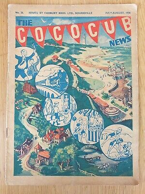 Vintage The Cococub News No.26 July - August 1938