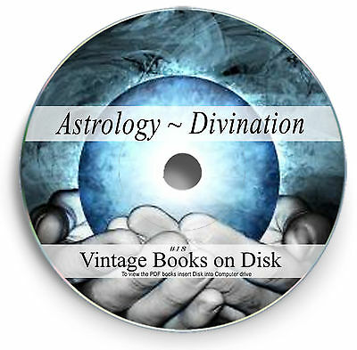Rare Books Astrology Divination Tarot Card Palmistry Psychic Numerology  DVD 18
