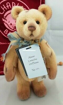2019 Charlie Bears Isabelle Mohair Collection ALISTAIR (Number 171 of 250)