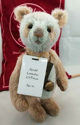 SPECIAL OFFER! 2018 Charlie Bears Isabelle Mohair ARNOLD (No 41/275) RRP £125