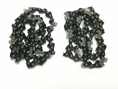 "2 X MACHINETEC Chainsaw Saw Chain 3/8 LP .050 55 DL Fits Some 14"" Bars"