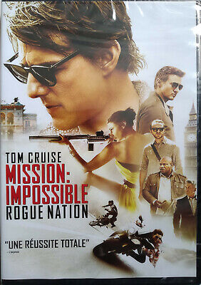 DVD MISSION IMPOSSIBLE - ROGUE NATION  neuf sous blister - TOM CRUISE