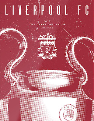 UEFA Champions League Final Programme - Liverpool Winners Edition - 01 June 2019