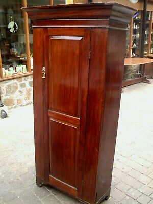 antique mahogany cupboard/ wardrobe