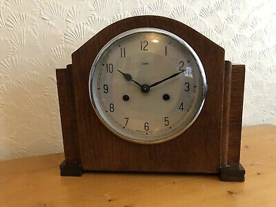 Vintage ENFIELD mantle Clock, Working But NO key, Good Condition