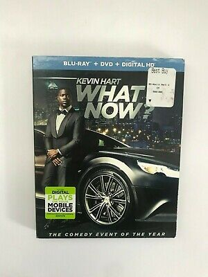 Kevin Hart: What Now? -- Blu-Ray + DVD + Slipcover -- (USED - VERY GOOD) -- 2016