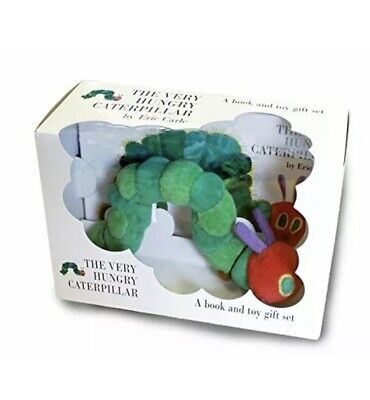 The Very Hungry Caterpillar A Book And Toy Gift Set By Eric Carle