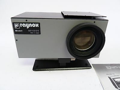 Raynox RV-1000 Video Transfer in the box and in E+C
