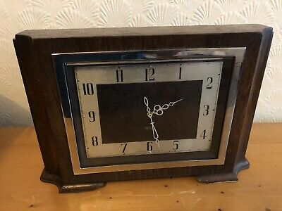 Vintage Smiths (English Clocks) SEC Sectric mantle Clock, SPARES OR REPAIRS.
