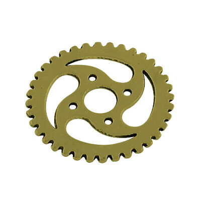 Gear Charm/Pendant Tibetan Steampunk Antique Bronze 30mm  10 Charms Accessory