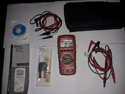 Benning Digital Multimeter MM1-3 Multimeter 044083 Digital