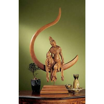 "28"" Chinese Goddess Table Sculpture"