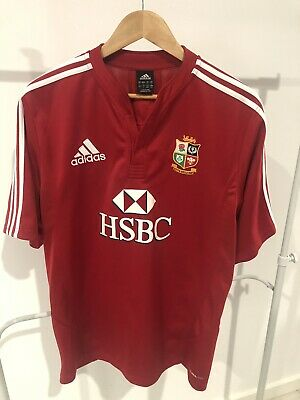 British Lions Rugby replica Shirt jersey - Large Adidas