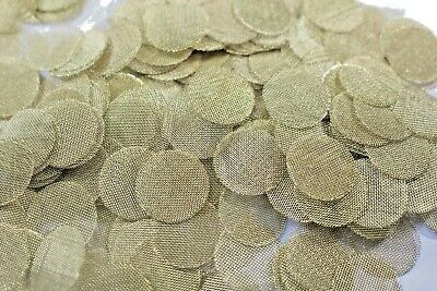 20  Brass Pipe Screens 3/4 in. Screens for Smoking Tabacco Pipes. made in USA