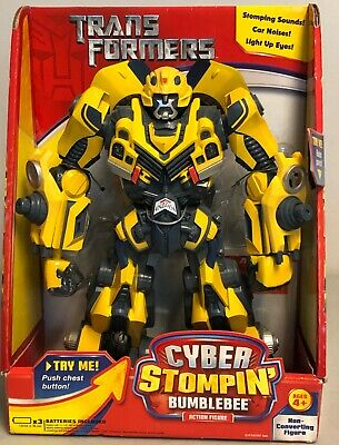 TRANSFORMERS CAR LIGHT Up Bump And Go LED Yellow Generic