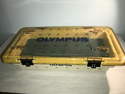 Olympus Sterilization Tray, 4.5 In X 8.5 In X 19 In, Used, Wa05970A And Wa05971A