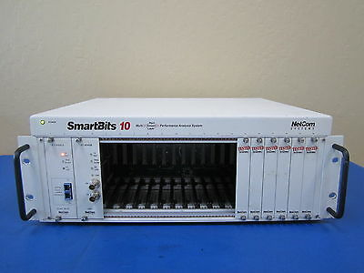 Spirent SmartBits Model SMB-10 Network Analyzer w/ AT-9155Cs & AT-9045B Modules