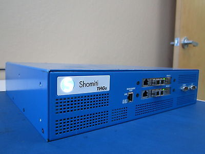 Shomiti THGs 120/246VAC 50/60HZ 40A Ten Hundred Gigabit System Protocol Analyzer