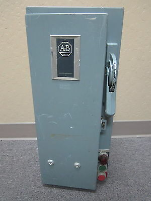 Allen-Bradley 712-AAA24 Series N 3 PH 5 HP 460-575V Combination Motor Starter